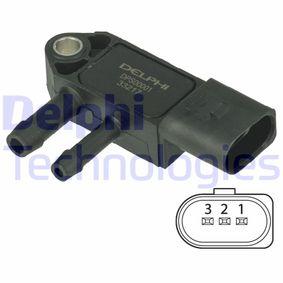 Senzor, tlak vyfuk.plynu DPS00001 Octa6a 2 Combi (1Z5) 1.6 TDI rok 2010