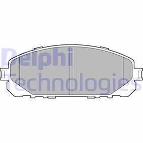 Bremsbelagsatz, Scheibenbremse Höhe: 62mm, Dicke/Stärke 2: 18mm mit OEM-Nummer 68212327AB