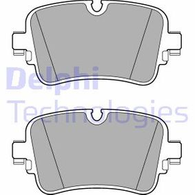 Brake Pad Set, disc brake Height 2: 65mm, Height: 65mm, Thickness 1: 17mm, Thickness 2: 17mm with OEM Number 4M0 698 451P