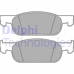 Bremsbelagsatz, Scheibenbremse Höhe: 48,7mm, Dicke/Stärke 2: 17,2mm mit OEM-Nummer 410605536R