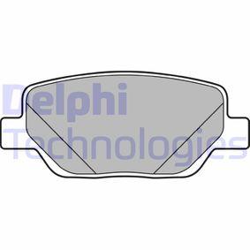 Bremsbelagsatz, Scheibenbremse Höhe: 42mm, Dicke/Stärke 2: 17,5mm mit OEM-Nummer 77367717