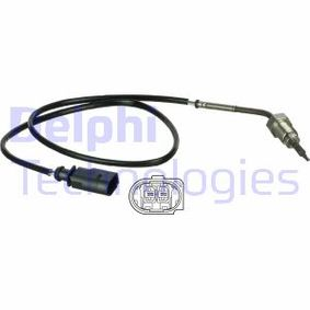 Sensor, Abgastemperatur Kabellänge: 615mm mit OEM-Nummer 03G 906 088 AN