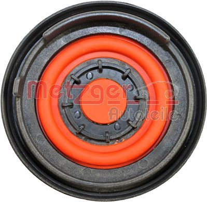Membran, Kurbelgehäuseentlüftung 2385068 METZGER 2385068 in Original Qualität