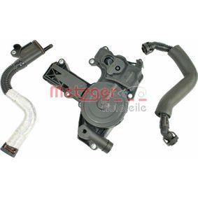 Repair Set, crankcase breather with OEM Number 06H 103 495 AC