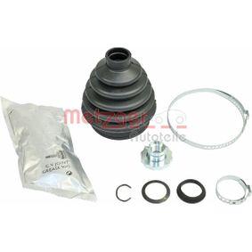 Faltenbalgsatz, Antriebswelle Innendurchmesser 2: 24mm, Innendurchmesser 2: 78mm mit OEM-Nummer 6QE 498 203A
