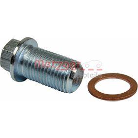 METZGER  8030031 Sealing Plug, oil sump