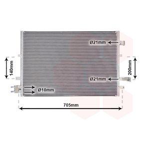 Kondensator, Klimaanlage 18005377 MONDEO 3 Kombi (BWY) 2.0 TDCi Bj 2006