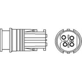 Lambdasonde Kabellänge: 900mm mit OEM-Nummer A002 540 06 17