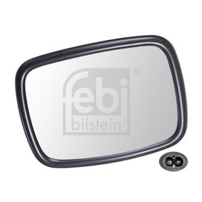 Wide-angle mirror with OEM Number 650 364