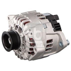 Lichtmaschine Rippenanzahl: 6 mit OEM-Nummer 5705EV
