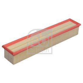 Luftfilter Länge: 455mm, Breite: 84,0mm, Höhe: 69mm, Länge: 455mm mit OEM-Nummer 1110940204