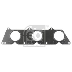 Gasket, exhaust manifold Thickness: 0,65mm with OEM Number 272 142 0680