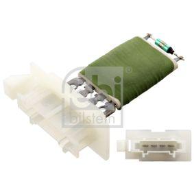 Odpor, vnitřní tlakový ventilátor 102584 Octa6a 2 Combi (1Z5) 1.6 TDI rok 2009