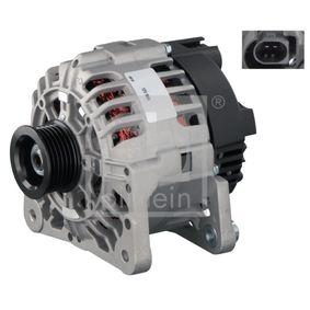 Lichtmaschine Rippenanzahl: 6 mit OEM-Nummer 03D 903 025JX
