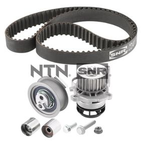 Water pump and timing belt kit with OEM Number 06D109244E