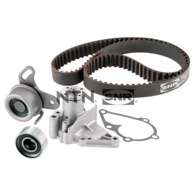 Water pump and timing belt kit with OEM Number 25100-26-902