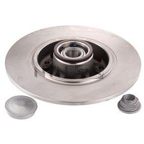 Disco de freno Espesor disco freno: 8,1mm, Núm. orificios: 5, Ø: 260mm con OEM número 7703066036