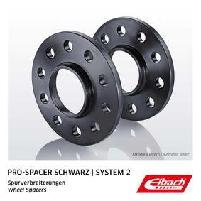 EIBACH Pro-Spacer S90-2-10-043-B Spurverbreiterung Gewindemaß: M14x1,5, Lochanzahl: 5, Lochkreis-Ø: 112mm, Spurverbreiterung pro Achse: 20mm