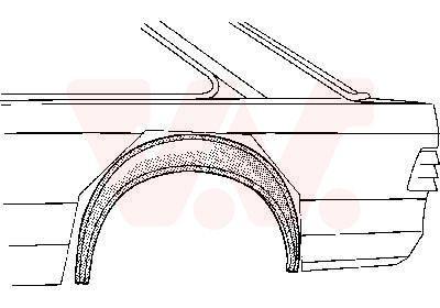 VAN WEZEL  1844346 Reparaturblech