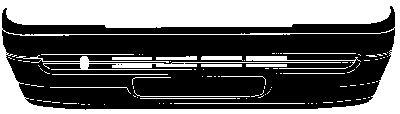 Frontschürze 1855572 VAN WEZEL 1855572 in Original Qualität