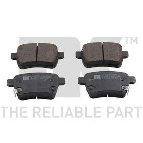 Bremsbelagsatz, Scheibenbremse Breite 2: 95,60mm, Höhe 2: 47,60mm, Dicke/Stärke 2: 16,80mm mit OEM-Nummer 7 736 791 4