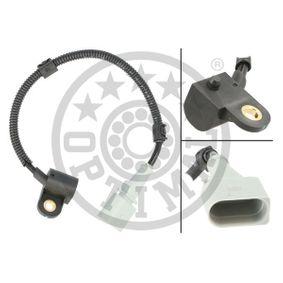 Sensor, posición arbol de levas Long. cable: 250mm con OEM número 03G 957 147B