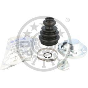 Faltenbalgsatz, Antriebswelle Höhe: 101,5mm, Innendurchmesser 2: 24,5mm, Innendurchmesser 2: 58mm mit OEM-Nummer 7H0 498 201