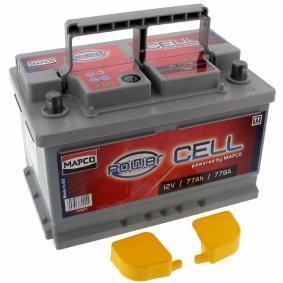 Starterbatterie 105077 TOURAN (1T1, 1T2) 2.0 TDI Bj 2006