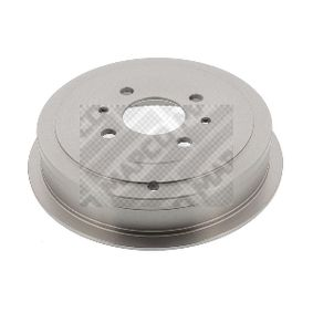 MAPCO  35036 Brake Drum Drum Ø: 203,0, Outer Br. Sh. Diameter: 250mm