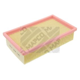 Air Filter Length: 239mm, Width: 141mm, Height: 58mm, Length: 239mm with OEM Number 16546-BN701