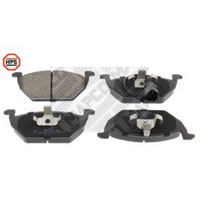 Bremsbelagsatz, Scheibenbremse Breite: 146mm, Höhe: 55mm, Dicke/Stärke: 20mm mit OEM-Nummer 1S0-698-151-A