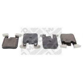 Brake Pad Set, disc brake 6638 3 Saloon (F30, F80) 320d 2.0 MY 2012