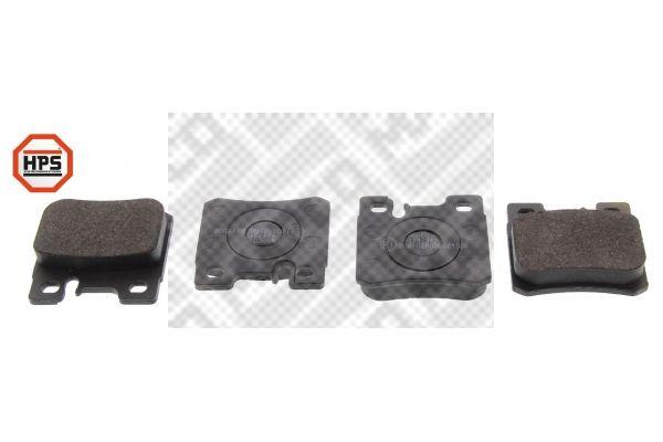 MAPCO  6706HPS Bremsbelagsatz, Scheibenbremse Breite: 61,8mm, Höhe: 58,6mm, Dicke/Stärke: 15mm