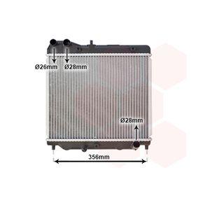 Радиатор, охлаждане на двигателя 25002178 Jazz 2 (GD_, GE3, GE2) 1.2 i-DSI (GD5, GE2) Г.П. 2008