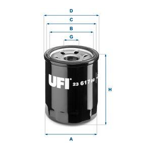 Ölfilter Ø: 68mm, Außendurchmesser 2: 64mm, Innendurchmesser 2: 56mm, Höhe: 86mm mit OEM-Nummer 15208-AA160
