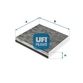 Filter, Innenraumluft Länge: 216,0mm, Breite: 226,0mm, Höhe: 35,0mm mit OEM-Nummer 6447-SZ
