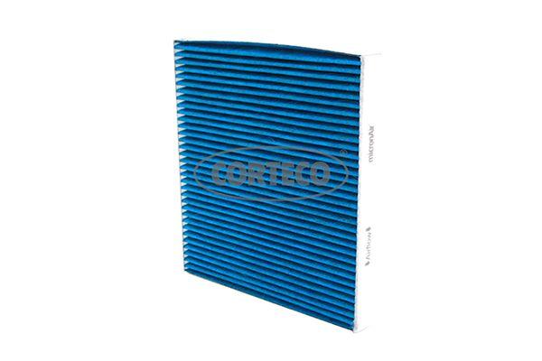 CORTECO  49408486 Filter, Innenraumluft Länge: 252mm, Breite: 235mm, Höhe: 30,5mm