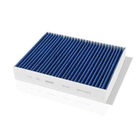 Filter, Innenraumluft Länge: 246mm, Breite: 196mm, Höhe: 40mm mit OEM-Nummer 64 11 9 395 845