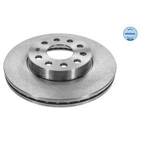Bremsscheibe Bremsscheibendicke: 24mm, Lochanzahl: 5, Ø: 276mm mit OEM-Nummer 2Q0 615 301H