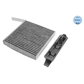 Filter, interior air Length: 183mm, Width: 181mm, Height: 25mm with OEM Number 7711 426 872