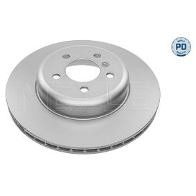 Brake Disc Brake Disc Thickness: 24mm, Num. of holes: 5, Ø: 345mm with OEM Number 34 206 797 607