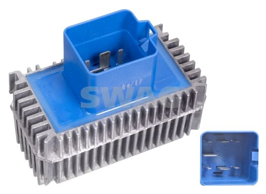 SWAG  40 10 2690 Relay, glow plug system Voltage: 12V, Number of connectors: 7
