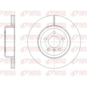 Brake Disc Brake Disc Thickness: 24mm, Num. of holes: 5, Ø: 345mm, Ø: 345mm with OEM Number 34206797607