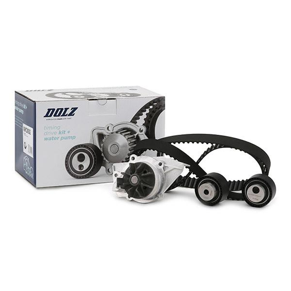 Timing belt and water pump kit DOLZ 06KD006 expert knowledge