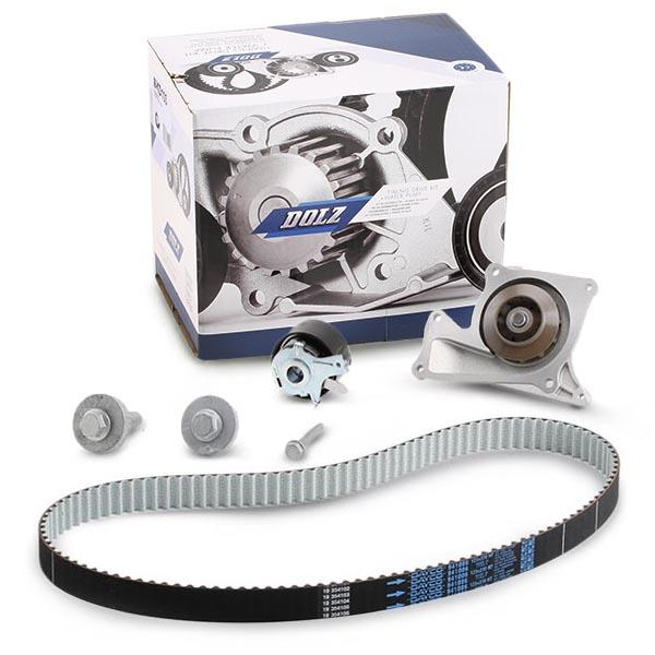 Timing belt and water pump kit DOLZ 05KD003 expert knowledge