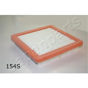 Air Filter Length: 202mm, Width: 189mm, Height: 34,5mm, Length: 202mm with OEM Number 165463VD0A
