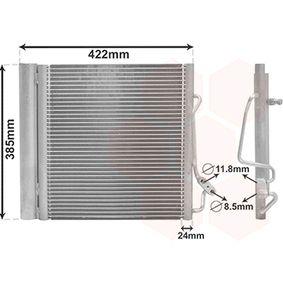 Kondensator, Klimaanlage mit OEM-Nummer 0 001 632 V0 03