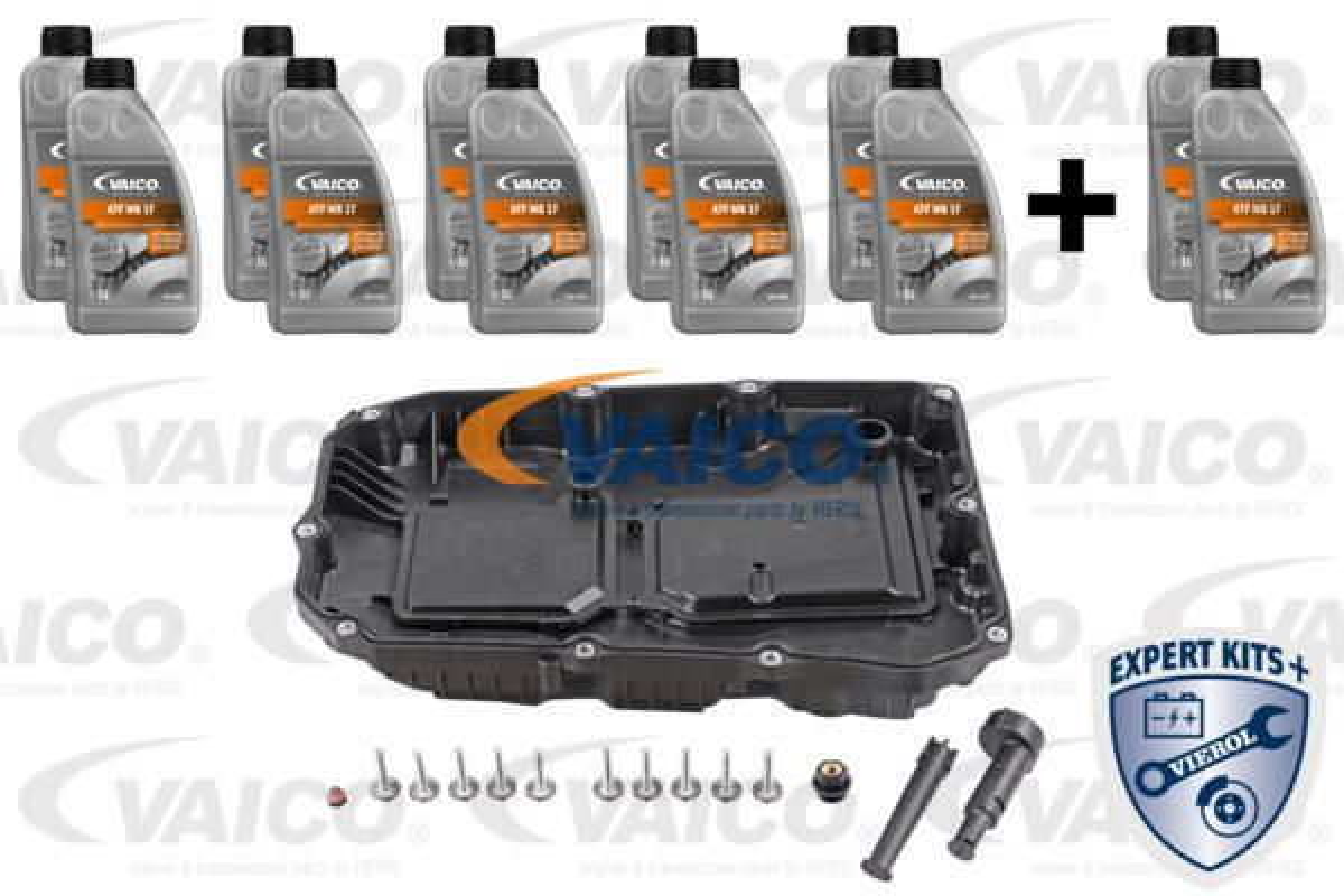 VAICO  V30-2377-XXL Teilesatz, Ölwechsel-Automatikgetriebe 9G-Tronic, 725,0