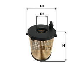 Filtro de óleo Altura: 99mm com códigos OEM SU001A3092