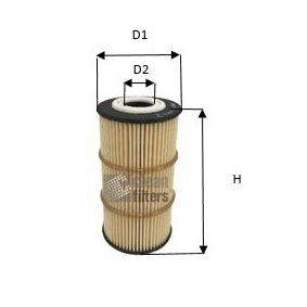 Oil Filter Height: 111,5mm with OEM Number A622 180 00 09